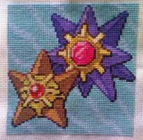 Staryu and Starmie by Blackmageheart