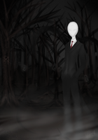 So you came? [Slenderman fanart] by Kiba-Shiruba
