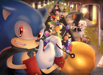 Sonic Halloween 2012 by Nino-Umaka