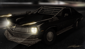 Twisted Metal- My car Angus by DJCoulz