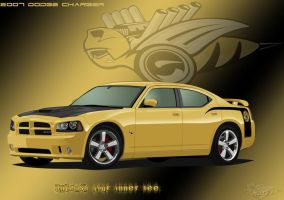 2007 Dodge Charger Super Bee by sharpie1k