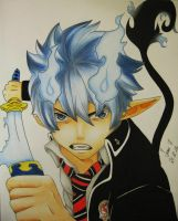 Rin Okumura - Ao no Exorcist by TrunksJovi