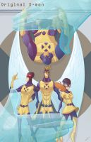 ORIGINAL X-MEN by ZeyJin