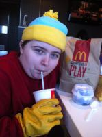 Eric Theodore Cartman South Park At Mcdonalds by Playflame1