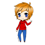 Chibi comission for superredheadedgamer by veronica1134
