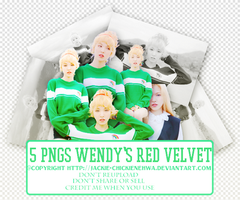 [20150314] PNG Pack Wendy's Red Velvet by Jackie-chickienehwa