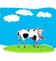 funny cow by PetroSatyricon