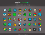 "Icons Pack ""Web Cartoon"" by shlyapnikova"