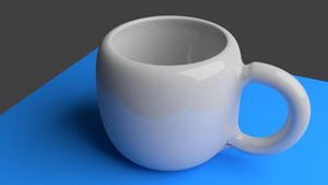Blender - Coffee cup by Agent-Minnesota
