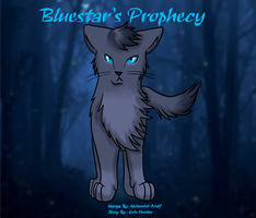 Bluestar's Prophecy : Cover by Raven-Kane