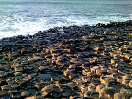 The Giant's Causeway by Cybopath