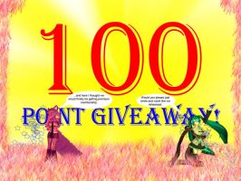 100 Point Giveaway by DarkQasim