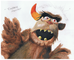 Trekkie Monster by ConkerTSquirrel