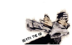 Death the Kid Wallpaper by Majora58