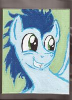 Soarin Caught Face by Pwnyville