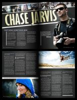 Chase Jarvis Editorial Design by JustMarDesign