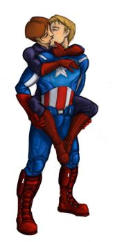 Avengers RP: Daria and Steve by SilverGryphon8
