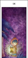 Hermit - Adorables Tarot by blue-fusion