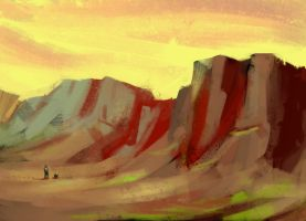 Journey speedpaint by Karollos