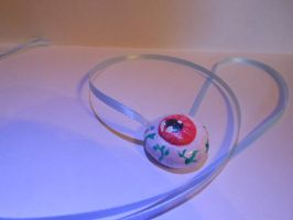 Eyeball Necklace by PeppermintCactus