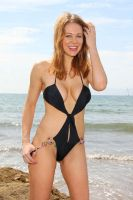 Maitland Ward | Black Swimsuit | QW2 | 321 by c-edward