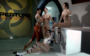 Portal 2 Chell Body Groups Update by Rastifan