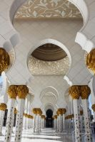 Sheikh Zayed mosque UAE by amirajuli