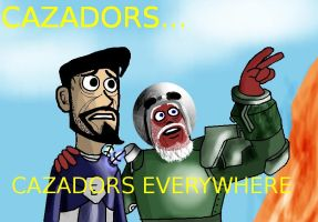 Cazadors... by SanguineSoupKitchen