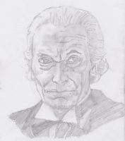 Portrait of 1st Doctor from Doctor Who by Volti