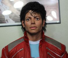 Michael Jackson Beat It Lifesize torso Closeup 2 by godaiking