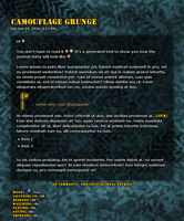 Camouflage Grunge Journal Skin by sergbel