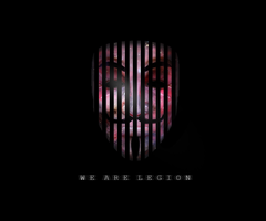 Anonymous, We Are Legion by KarmaKira