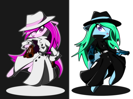 RQ- Black and White by BasilLoon