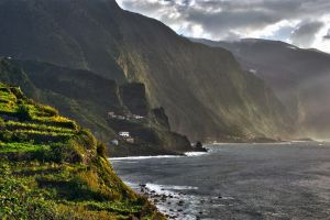 Cliffs  Of  Madeira 2 by CitizenFresh