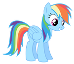 Rainbow Dash Vector - That's Sounds Interesting! by Anxet