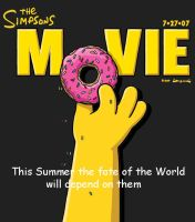 My Simpson Movie Poster by WaggonerCartoons