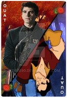 OUAT Card Gaston by jeorje90