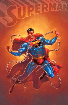 Superman by Arturo and Lord by RyanLord