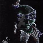 TMNT Donatello by KizzyAnel