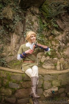 Photoshoot Cosplay: Link III by Arvalus