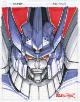 CS galvatron by markerguru