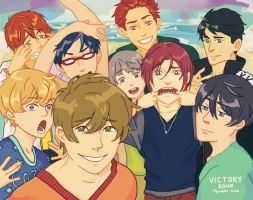 Thanks for swimming with us! by VictorySoup