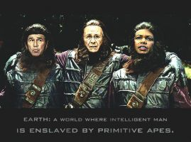 Enslaved by primitive apes... by OrderOfTheNewWorld