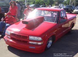 Pro Street Chevrolet S10 by Mister-Lou