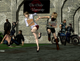 Those days in the campus by Ygure