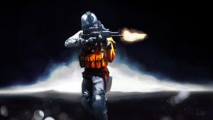 Battlefield 3 soldier by Fedota