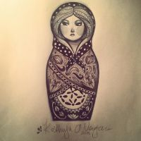 Matryoshka Two by Armadria