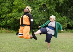 Naruto - 1000 Year Kick no Jutsu by roxastuskiomi