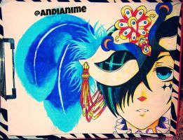 ~Ciel Phantomhive | Masquerade ~ by AndiAnime