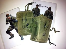Metal Gear - pouches by RBF-productions-NL